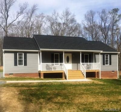 King George Single Family Home For Sale: 0000 Spring Cottage Road