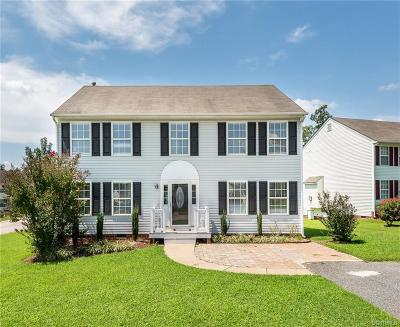 Chester Single Family Home For Sale: 3916 Windy Creek Court