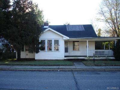 Hopewell Single Family Home For Sale: 800 East Broadway