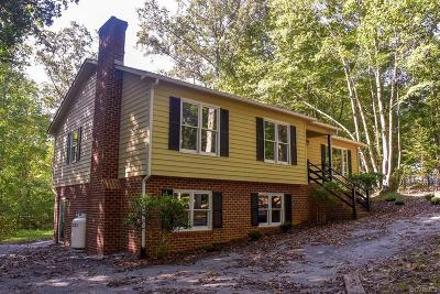 Farmville Single Family Home For Sale: 1707 Briery Road