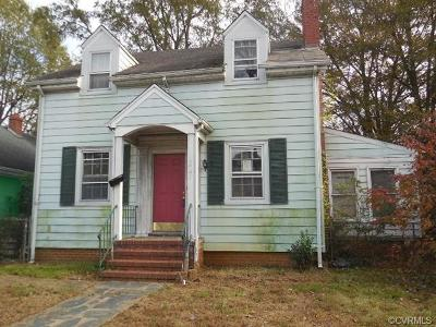 Richmond Single Family Home For Sale: 3421 Maryland Avenue