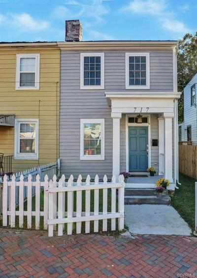 Richmond Single Family Home For Sale: 717 North 24th Street