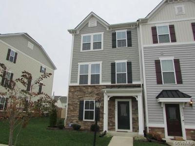 Chesterfield County Condo/Townhouse For Sale: 7825 Chasing Lane