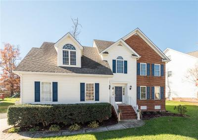 Chesterfield County Single Family Home For Sale: 8002 Hampton Green Drive