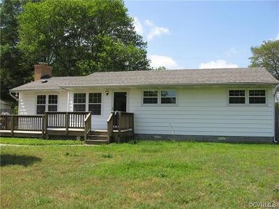 Henrico County Single Family Home For Sale: 9802 Thacker Lane