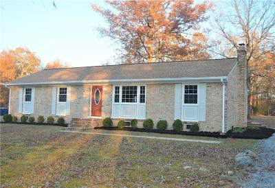 Chesterfield County Single Family Home For Sale: 13913 Cedar Creek Road