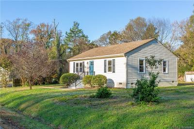 Henrico Single Family Home For Sale: 1700 Buckner Street
