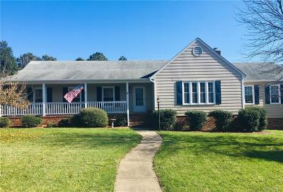 Chesterfield County Single Family Home For Sale: 6813 Irongate Drive