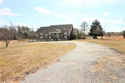 Nottoway County Single Family Home For Sale: 1871 Walnut Hill Road