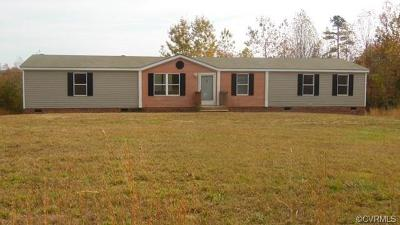 Amelia County Single Family Home For Sale: 11841 Smokey Lane