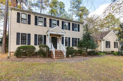 Richmond Single Family Home For Sale: 10800 Whitaker Woods Road