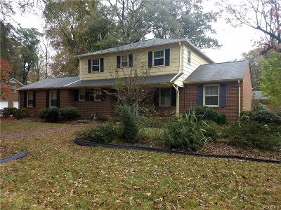 Hopewell VA Single Family Home For Sale: $199,950