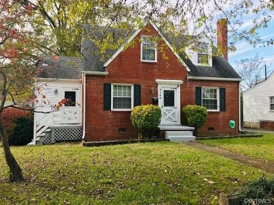 Henrico Single Family Home For Sale: 6100 Club Road