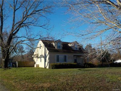 Amelia County Single Family Home For Sale: 5700 Dennisville Road
