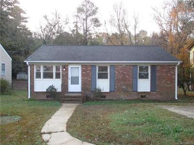 Hopewell Single Family Home For Sale: 3108 River Road