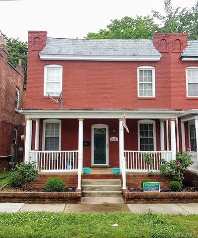 Richmond Rental For Rent: 614 North 32nd Street
