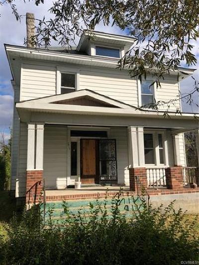 Richmond Single Family Home For Sale: 2415 Barton Avenue