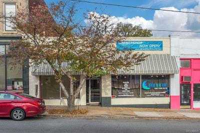 Richmond Commercial For Sale: 921 Hull Street