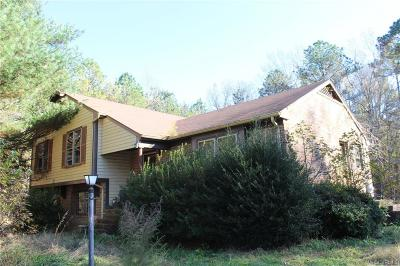 Blackstone Single Family Home For Sale: 339 Doswell Road