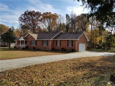 Petersburg Single Family Home For Sale: 1856 Ramblewood Road