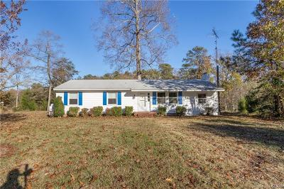 Topping Single Family Home For Sale: 524 Long Point Lane