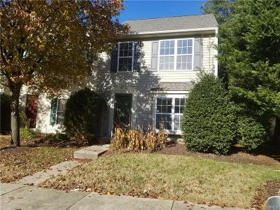 Glen Allen Condo/Townhouse For Sale: 9001 Silverbush Drive #9001