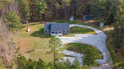 Amelia County Single Family Home For Sale: 25350 Genito Parkway
