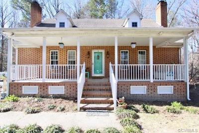 Dinwiddie VA Single Family Home For Sale: $299,900