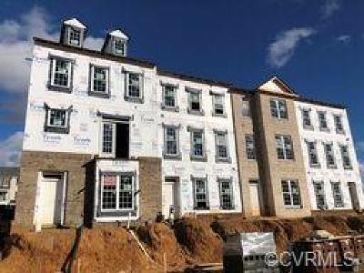 Midlothian Condo/Townhouse For Sale: 14412 Michaux Village Drive