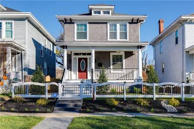 Richmond Single Family Home For Sale: 2805 Griffin Avenue