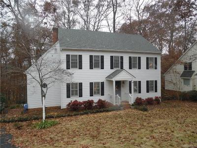 Chesterfield Single Family Home For Sale: 10412 Old Camp Road