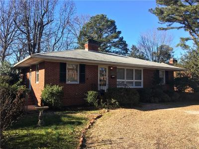 Richmond Single Family Home For Sale: 4907 Monument Avenue