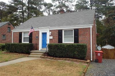 Colonial Heights VA Single Family Home Pending: $124,900