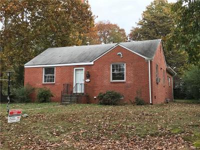 Henrico Single Family Home For Sale: 1623 Foster Road