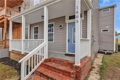 Richmond Single Family Home For Sale: 1605 North 23rd Street