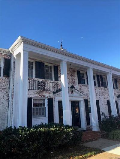 Richmond Single Family Home For Sale: 3709 Patterson Avenue
