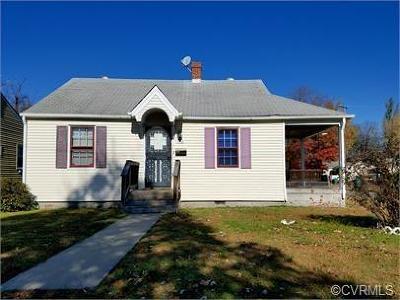 Richmond Single Family Home For Sale: 1110 Goddin Street