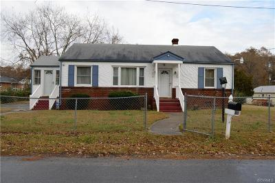 Hopewell Single Family Home For Sale: 1305 Meadow Street