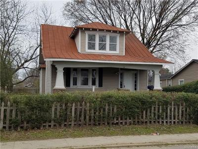 Henrico Single Family Home For Sale: 1818 Williamsburg Road