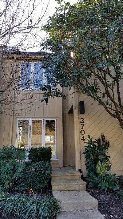 Henrico County Rental For Rent: 2704 Spinnaker Court