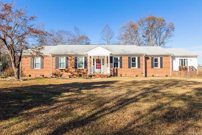 Mechanicsville Single Family Home For Sale: 7017 McClellan Road