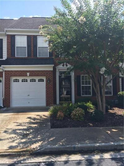 Glen Allen Condo/Townhouse For Sale: 5907 Chapel Lawn Terrace