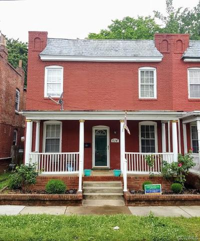 Richmond Single Family Home For Sale: 614 North 32nd Street