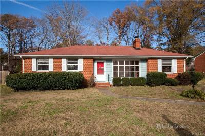 Henrico Single Family Home For Sale: 7802 Mayland Drive