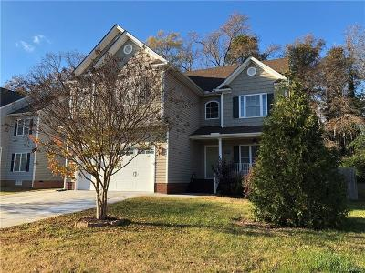 Henrico County Rental For Rent: 8012 Lawford Hills Court