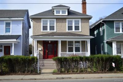 Richmond Single Family Home For Sale: 2816 North Ave