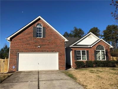 Henrico Single Family Home For Sale: 3157 Chartwood Drive