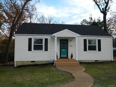 Henrico Single Family Home For Sale: 7209 Brigham Road