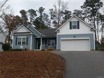 Hopewell Single Family Home For Sale: 1616 Camerons Landing Boulevard