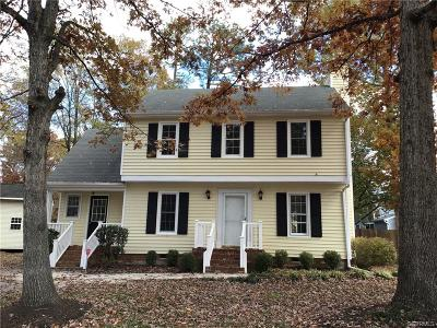 Glen Allen Single Family Home For Sale: 4707 Candlelight Lane